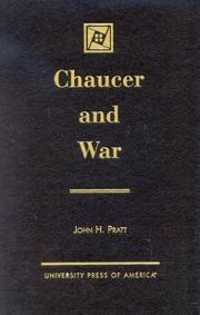 Cover of: Chaucer and war