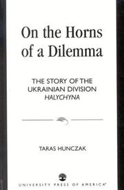 Cover of: On the horns of a dilemma