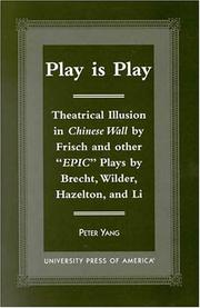 Cover of: Play is play
