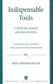 Cover of: Indispensable Tools | Keith Spencer Felton