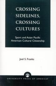 Cover of: Crossing Sidelines, Crossing Cultures | Joel S. Franks