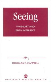 Seeing by Douglas G. Campbell