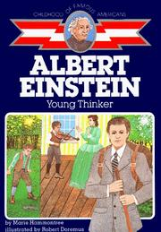 Cover of: Albert Einstein, young thinker