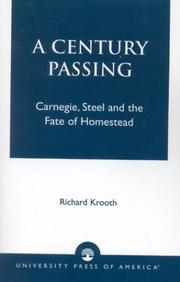 Cover of: A century passing
