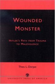 Cover of: Wounded monster