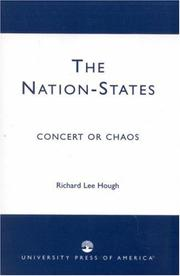 Cover of: The Nation-States | Richard Lee Hough