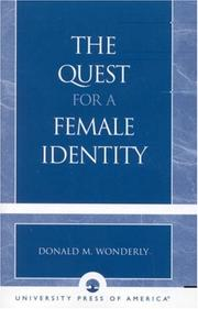 Cover of: The Quest for a Female Identity
