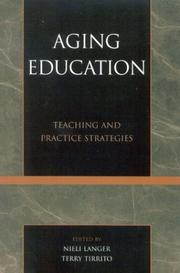 Cover of: Aging Education