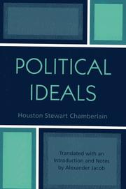 Cover of: Political Ideals