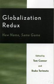 Cover of: Globalization Redux | Conner Tom