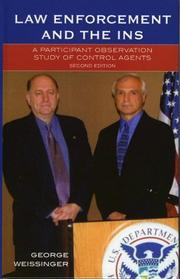 Cover of: Law Enforcement and the INS