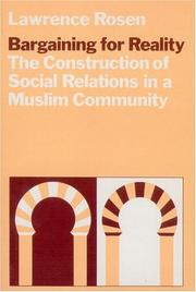Cover of: Bargaining for reality