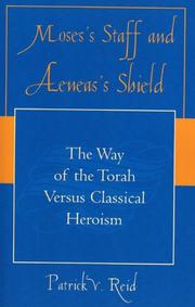 Cover of: Moses' Staff and Aeneas' Shield