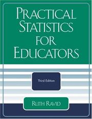 Cover of: Practical Statistics for Educators