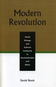 Cover of: Modern Revolution