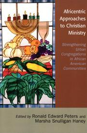 Cover of: Africentric Approaches to Christian Ministry |