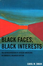 Black faces, black interests by Carol M. Swain