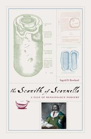 Cover of: The Scarith of Scornello | Ingrid D. Rowland