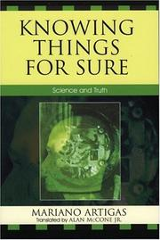 Cover of: Knowing Things for Sure: Science and Truth