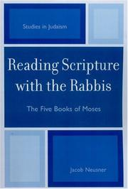 Cover of: Reading Scripture with the Rabbis | Jacob Neusner