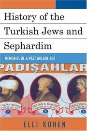 Cover of: History of the Turkish Jews and Sephardim | Elli Kohen