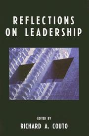 Cover of: Reflections on Leadership
