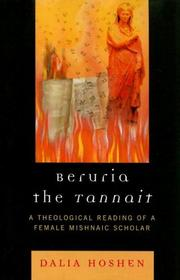 Cover of: Beruria the Tannait | Dalia Hoshen