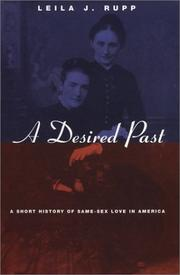 Cover of: A Desired Past | Leila J. Rupp