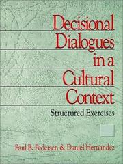 Cover of: Decisional dialogues in a cultural context