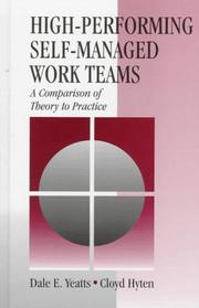Cover of: High-performing self-managed work teams
