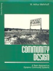 Cover of: Community design