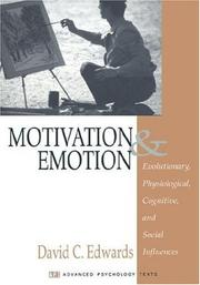 Cover of: Motivation and Emotion | David C. Edwards