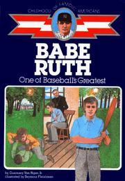 Babe Ruth, baseball boy by Guernsey Van Riper
