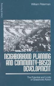 Cover of: Neighborhood Planning and Community-Based Development