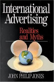 Cover of: International Advertising