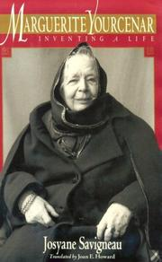 Cover of: Marguerite Yourcenar
