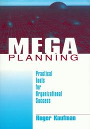 Cover of: Mega Planning | Roger Kaufman