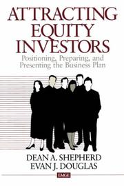 Cover of: Attracting Equity Investors | Dean A. Shepherd
