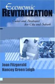 Cover of: Economic revitalization