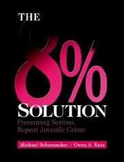 Cover of: The 8% solution