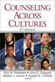 Cover of: Counseling Across Cultures (Counselling & Psychotherapy in Focus) | Paul B. (Bodholdt) Pedersen