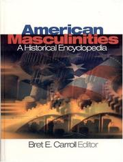 Cover of: American Masculinities