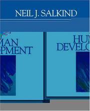Cover of: An Introduction to Theories of Human Development
