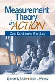Cover of: Measurement theory in action |