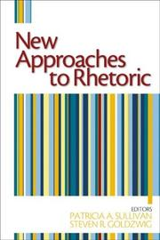 Cover of: New Approaches to Rhetoric |