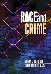 Cover of: Race and crime