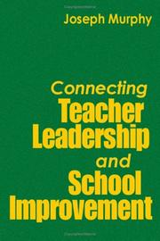 Cover of: Connecting Teacher Leadership and School Improvement | Joseph F. Murphy