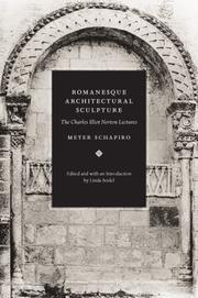 Cover of: Romanesque Architectural Sculpture