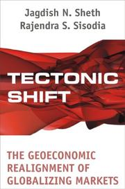 Cover of: Tectonic shift: the geoeconomic realignment of globalizing markets