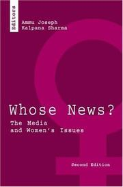 Cover of: Whose News? |
